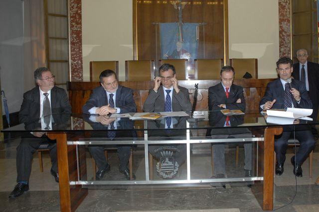Conferenza stampa Campionato Forze di Polizia/Enti 2008